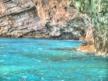 Wild kust Royaltyfria Bilder