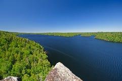 Wild Lake in Canoe Country Stock Photo