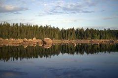 Wild lake Royalty Free Stock Photography