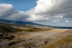 Wild landscape on Kamchatka Royalty Free Stock Photos