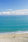 Wild landscape of the Mediterranean Sea in Spain Royalty Free Stock Photos