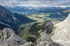 Wild landscape South Tyrol Royalty Free Stock Photos