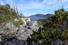 Wild landscape view of Tasmania Australia royalty free stock images