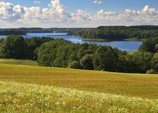 Wild landschap stock afbeeldingen