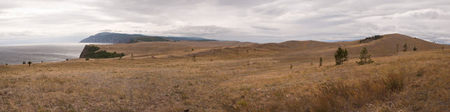 Wild landschap Stock Afbeelding