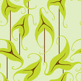 Wild Leaf Pattern Royalty Free Stock Image