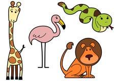 Wild lebende Tiere II Lizenzfreie Stockfotos