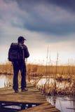 Wild life photographer Stock Photos