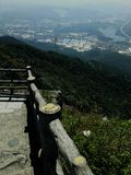 Wild life view from yinping hill top royalty free stock photography