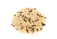 Wild and long polished rice Royalty Free Stock Photo