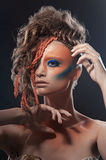 Wild makeup Royalty Free Stock Image