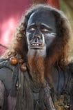 Wild Man King Royalty Free Stock Photography