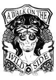 Wild masker Stock Foto