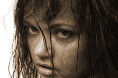 Wild meisje Stock Foto's