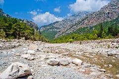 Wild mountain canyon Stock Photos
