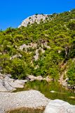 Wild mountain canyon Royalty Free Stock Photos