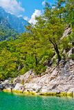 Wild mountain canyon Royalty Free Stock Photos