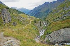 Wild mountain creek Stock Photo