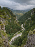 Wild mountain gorge Stock Photo