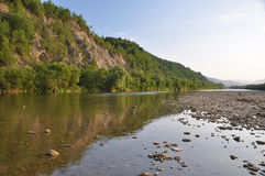 Wild mountain river Royalty Free Stock Image