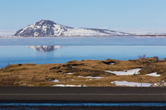 Wild nature of Iceland. Volcanoes, valleys Stock Photos