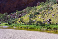 Wild nature at Simpsons Gap. Northen Territory, Australia Royalty Free Stock Images
