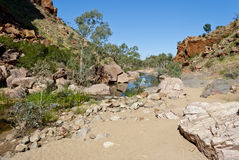Wild nature at Simpsons Gap. Northen Territory, Australia Royalty Free Stock Image