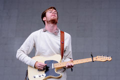 Wild Nothing, American dream pop band from Blacksburg, performs at Heineken Primavera Sound 2013 Festival Stock Image