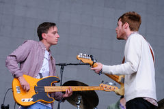 Wild Nothing band performs at Heineken Primavera Sound 2013 Festival Royalty Free Stock Image