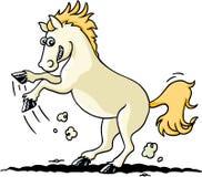 Wild paard stock illustratie