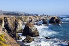 Wild pacific coast stock photography