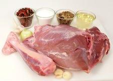 Wild-pig roast Stock Photo