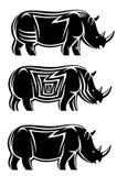 Wild rhinoceros Stock Image