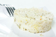 Wild Rice with butter Close-up Royalty Free Stock Photo