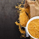 Wild rice Stock Photo