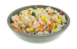 Wild Rice And Vegetables Royalty Free Stock Photography