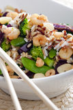 Wild Rice With Vegetables Stock Image