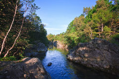 Wild river Royalty Free Stock Image
