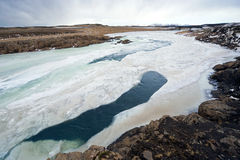 Wild river in Iceland Stock Photography