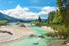 Wild river in mountains Stock Photo