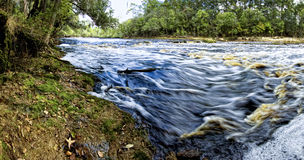 Wild River Panorama Stock Images
