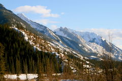 Wild rockies, jasper Stock Photo