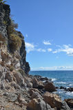 Wild and rocky coast Stock Image