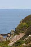 Wild rocky coast on western Sweden. Kullaberg - Wild rocky coast on western Sweden Stock Images