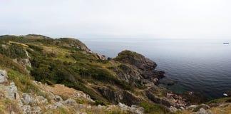 Wild rocky coast on western Sweden Stock Photos