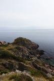 Wild rocky coast on western Sweden Stock Photography