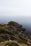 Wild rocky coast on western Sweden Royalty Free Stock Image