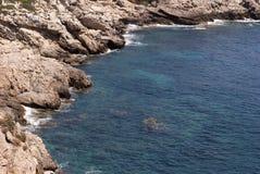 Wild rocky coastline Stock Image