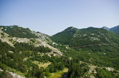 Wild rocky terrain Stock Photo