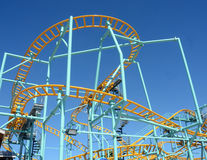 Wild rollercoaster Royalty Free Stock Image